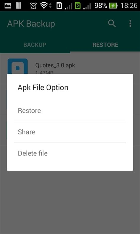 apk backup apk backup android app 1 3 by dream space codecanyon