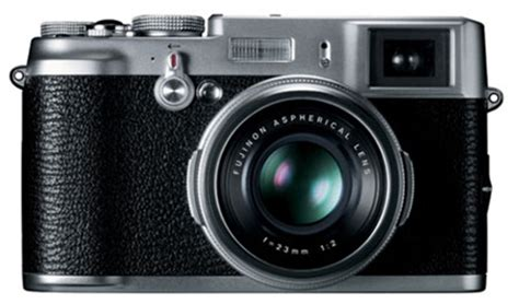 fujifilm finepix x100 vintage style digital camera