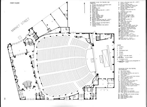 fox theater floor plan fox theatre san francisco orchestra level floor plan