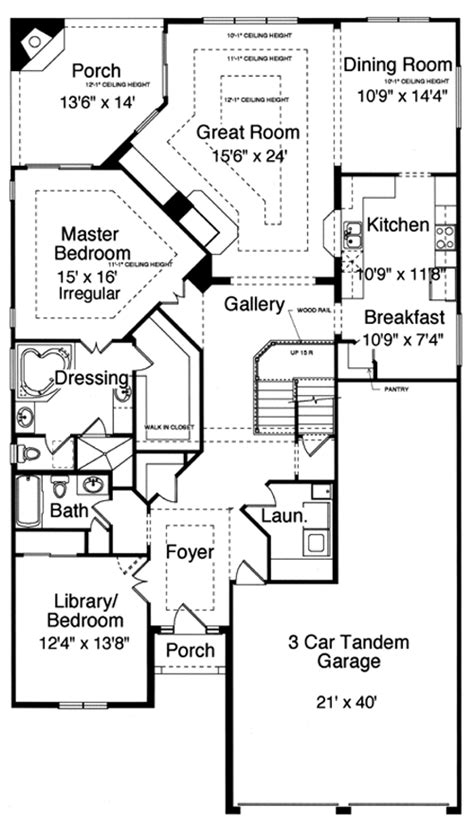 Patio Home Floor Plans by New House Plans By Studer Residential Designs