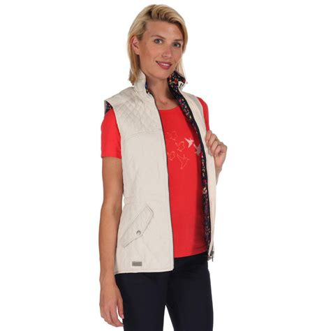 Womens Quilted Gilet by Regatta Womens Krystie Insulated Quilted Gilet