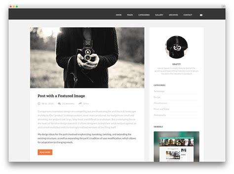 blogs design best blog wordpress themes for personal and business blogs