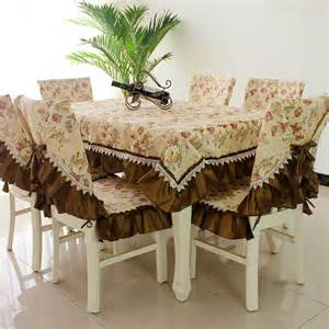 Dining Table And Chair Covers Dining Table Dining Table Cover Transparent Table Cloth