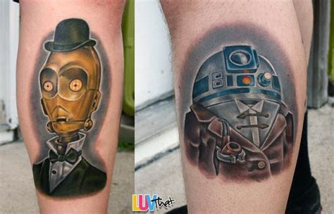 r2d2 tattoo awesome wars tattoos luvthat