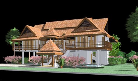 Thai Home Design News | revitcity com image gallery thai house design