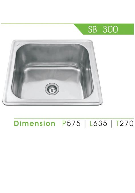Kitchen Sink Royal Sb 1pk kitchen set royal detil produk sb 300 royal sink fortuna alumunium tirta stainless steel