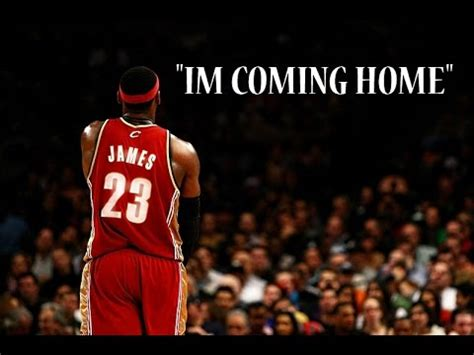lebron mix quot i m coming home quot the return to