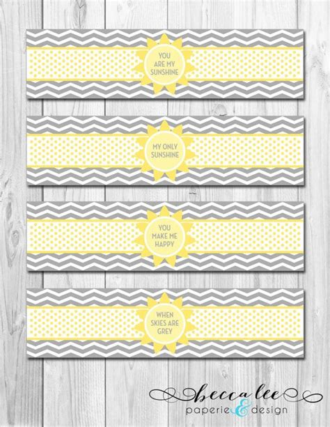 Instan Luris Polka instant water bottle labels you are my theme diy printable s