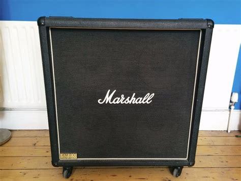 marshall jcm 800 cabinet for sale 1980s marshall jcm800 1960b 4x12 speaker cabinet