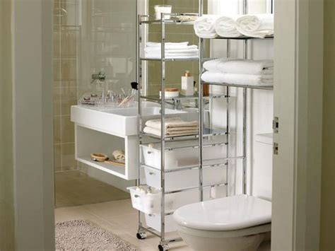 Bathroom Storage Solutions For Small Spaces Ward Log Homes Apartment Bathroom Storage Ideas