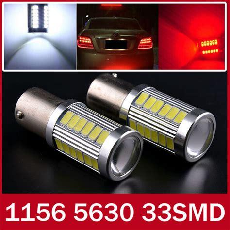 car led brake light bulbs 1156 p21w ba15s 33 led 5630 5730 auto brake lights fog
