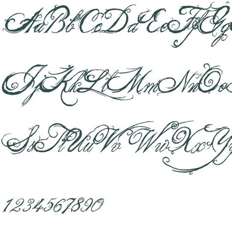 fancy tattoo fonts 104 best images about quotes on fonts