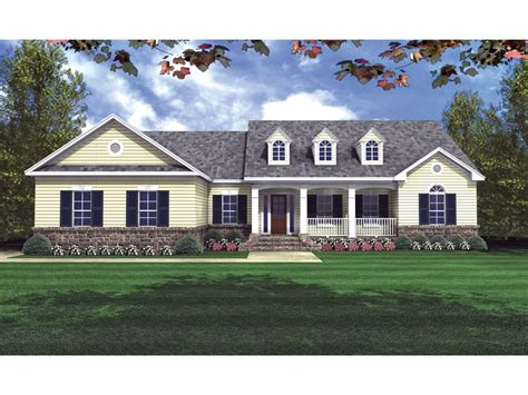 small home floor plans dormers pegasus country ranch home plan 077d 0057 house plans