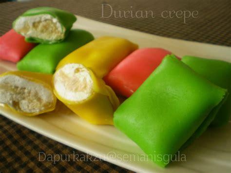 semanis gula durian crepe
