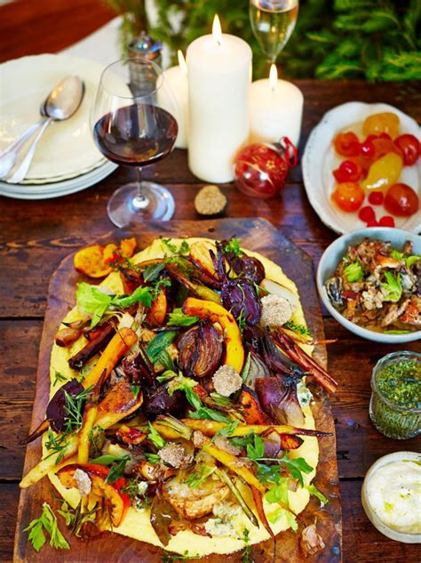 have a very veggie christmas jamie oliver features