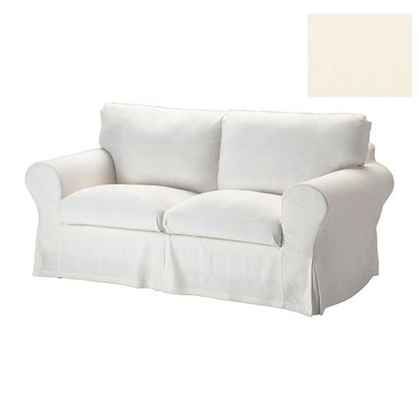 Ikea Ektorp 2 Seat Sofa Slipcover Loveseat Cover Stenasa White Sofa Cover