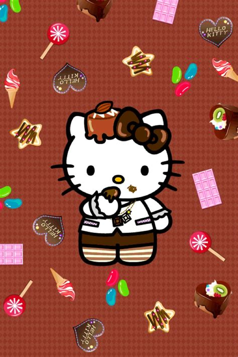 wallpaper hello kitty apps iphone hello kitty wallpapers group 56