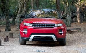 2012 land rover range rover evoque front end photo 3
