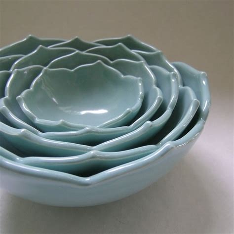 Lotus Bowls Lotus Nesting Bowls Alex S Weekly Style Whimsical