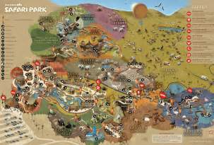 map of parks park map san diego zoo safari park