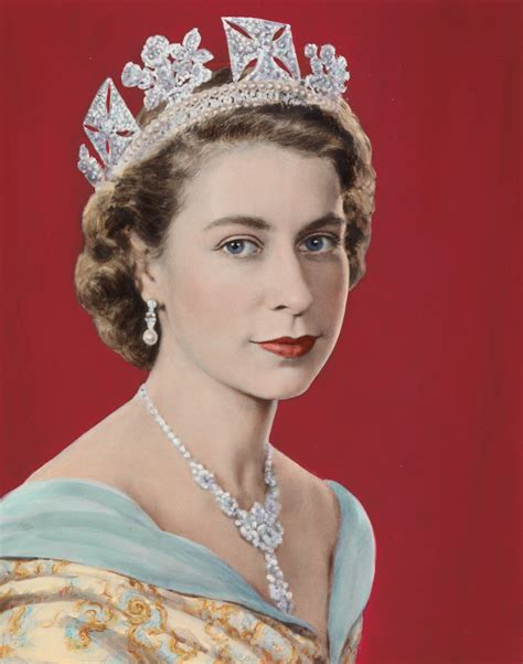 queen elizabeth ii painterlog com themed paintings portrait of queen