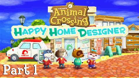 animal crossing happy home designer part 1 the lovely