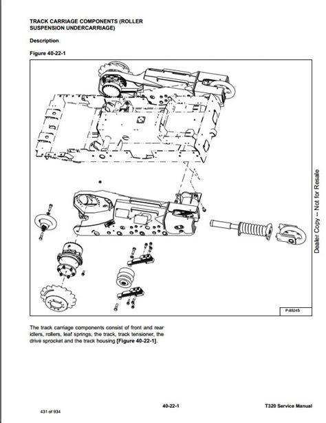 bobcat t320 compact track loader service repair workshop