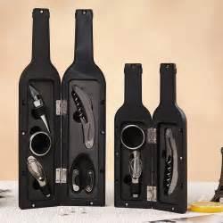 Buy Bar Accessories Aliexpress Buy Wine Bottle Shaped Gift Set Bottle