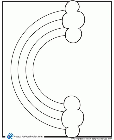 preschool free printable coloring pages of rainbows preschool free printable coloring pages of rainbows