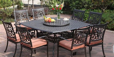 aluminum outdoor furniture sets why you should buy cast aluminum patio furniture