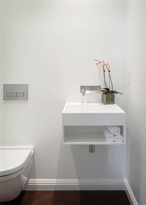 small powder room sinks modern bathroom sinks powder room contemporary with baseboards dark floor floating1 ideas for
