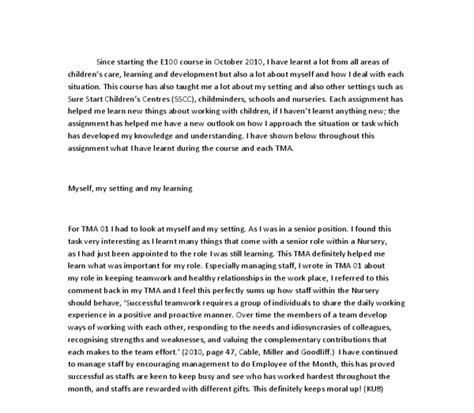 Self Reflective Essays by Self Reflection Paper Essay