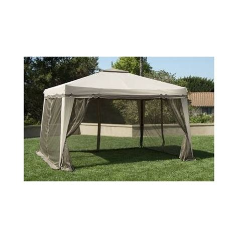 Portable Patio Gazebo Outdoor Patio Gazebo Canopy Cover Furniture Grill Backyard Portable Garden 10x12 Ebay
