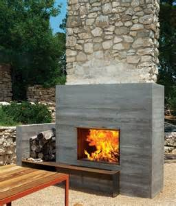 outdoor modern fireplace 12 amazing modern outdoor fireplaces