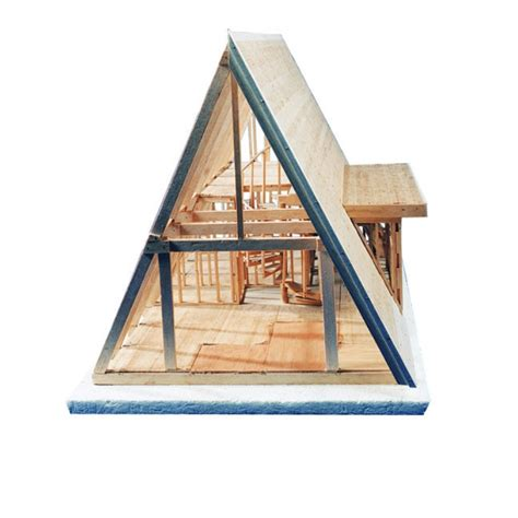 a frame house cost a frame cabin kit balsatron inc