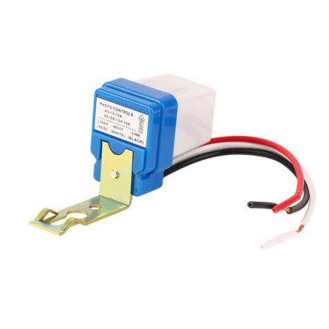 Photo Sensor 220volt 10a Or Home Lighting aliexpress buy 1pcs high quality 12v 10a auto ac dc on photocell light