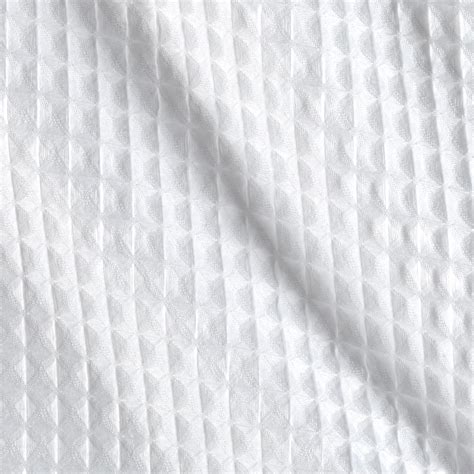 How To Buy Bedding imperial waffle pique white discount designer fabric
