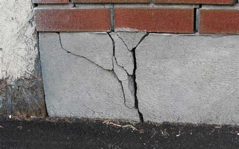 Stages of cracking foundations   A Better Choice, Inc.