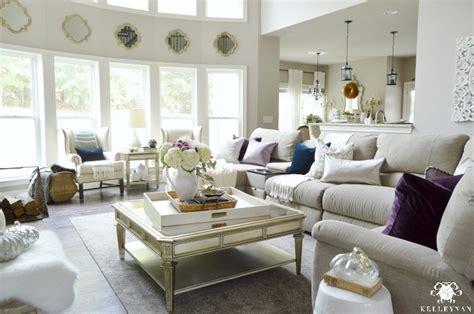 plum living room accessories a fall home tour kelley nan
