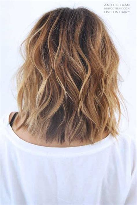 how to get beachy waves on shoulder lenght hair 20 new wavy hairstyles for short hair short hairstyles