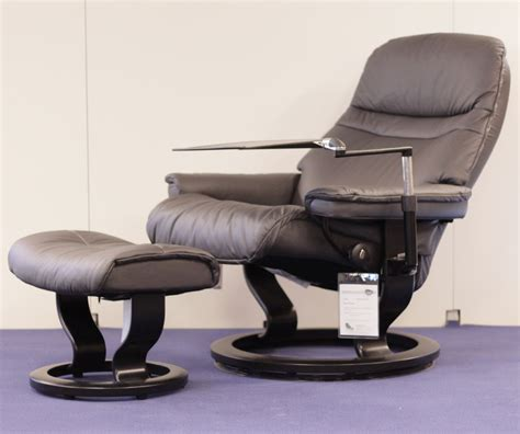 stressless leather recliners stressless sunrise paloma rock leather recliner chair by