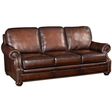 seven seas sofa hooker furniture seven seas leather sofa in sedona chateau