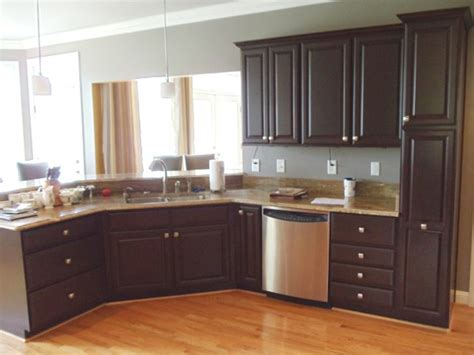 refinished kitchen cabinets how to refinish kitchen cabinets with several easy steps