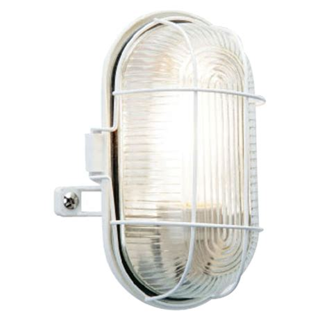 Outdoor Wall Lights B Q B Q Taro Outdoor Wall Light In White Wall Light Review Compare Prices Buy