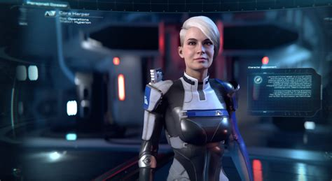 cora harper a small detail you might have missed in mass effect