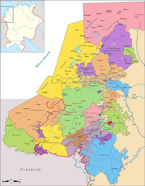 netherlands map of country netherlands country map