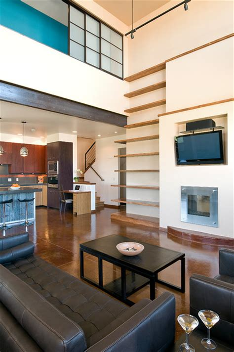 Modern Industrial Living Room by Industrial Modern Industrial Living Room Other Metro By Fieldwork Architecture