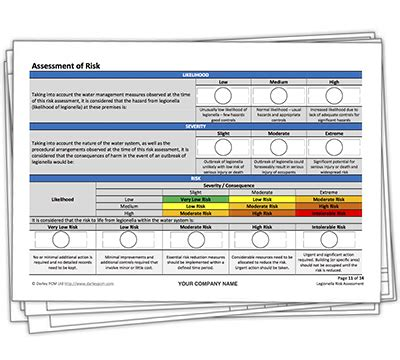 free legionella risk assessment template legionella risk assessment template darley pcm