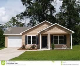 Compact House Small Residential Home Royalty Free Stock Photo Image