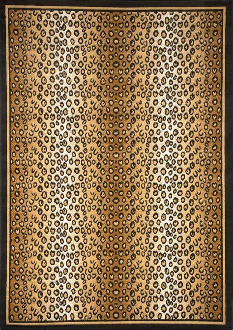 leopard area rug modern leopard animal print area rug 8x11 zebra safari carpet actual 7 8 x10 7 quot ebay